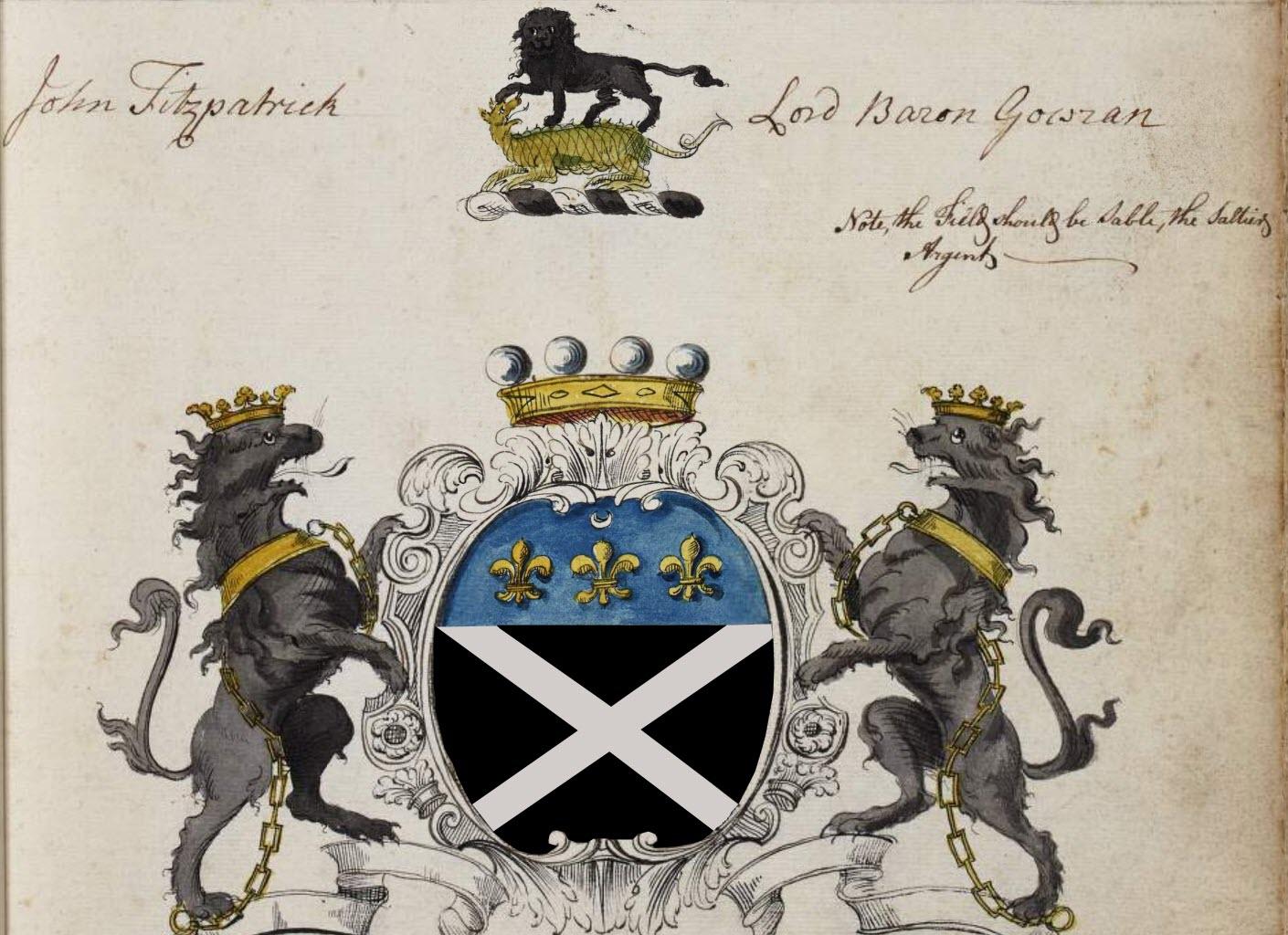 John Fitzpatrick, 2nd Lord Baron Gowran, 1st Earl Upper Ossory