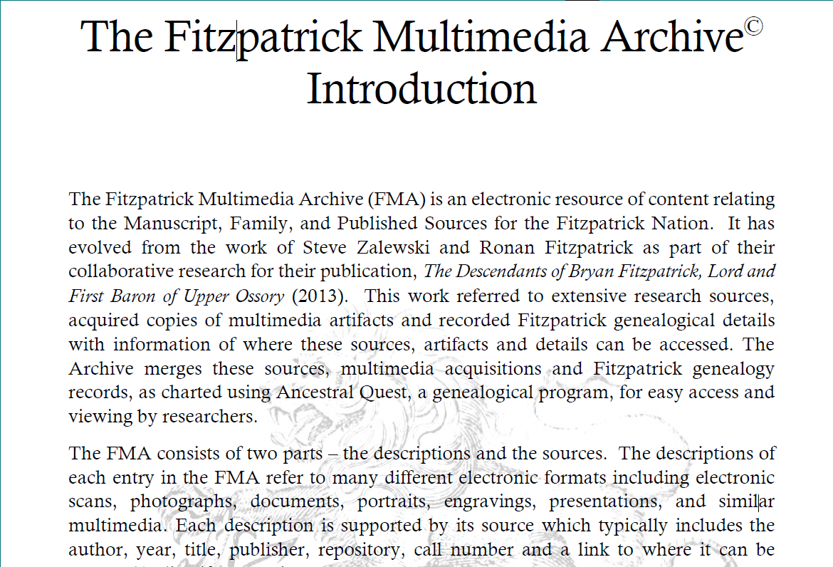 Click to open FMA Introduction